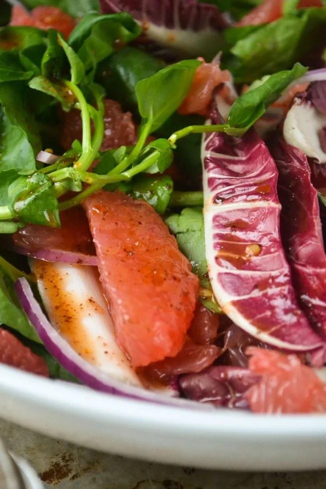 grapefruit watercress and sumac salad