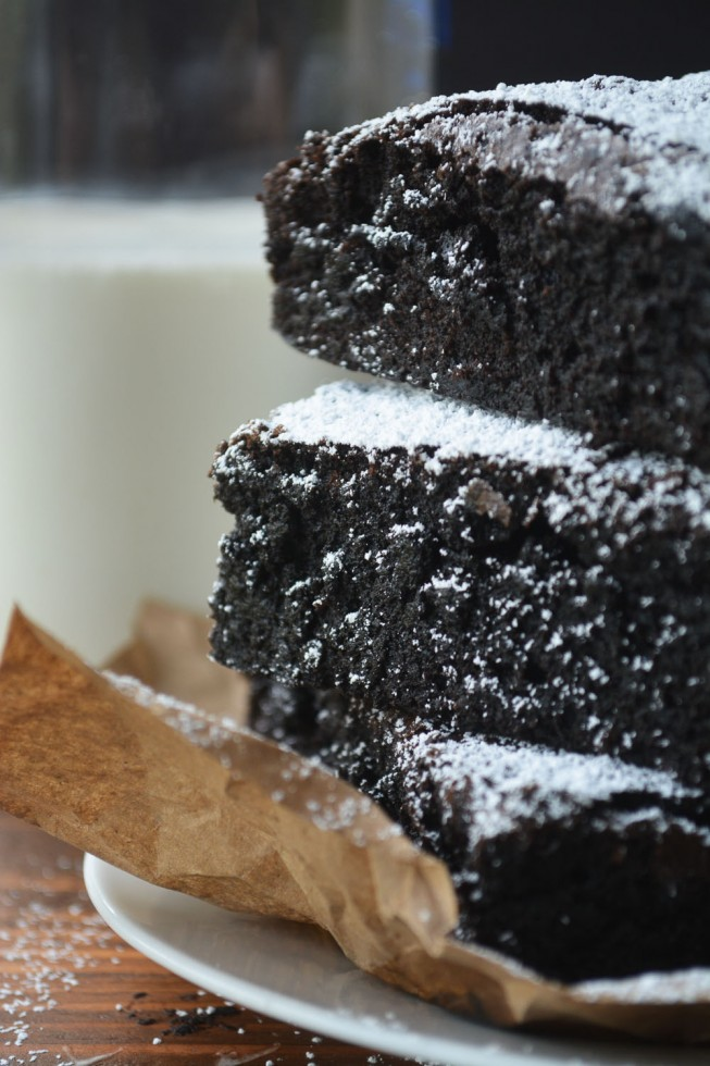 big fat colossal brownies