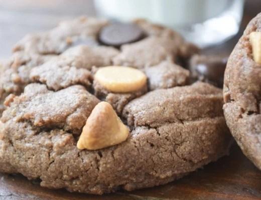 gluten free flourless chocolate peanut butter cookies
