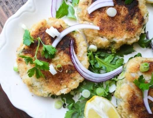 Irish Fish Cakes with a homemade Tartar Sauce