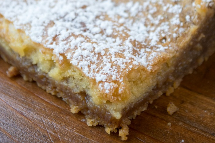 Milk Bar's Famous Crack Pie made into bars