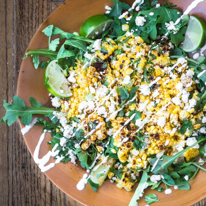 Striking Mexican Street Corn Salad