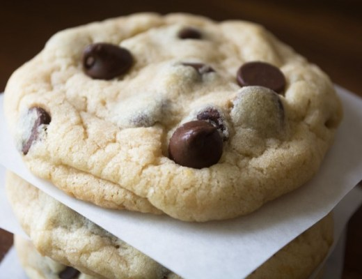 One bowl, soft batch style chocolate chip cookies