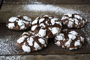 Chocolate Crinkle holiday cookie recipe