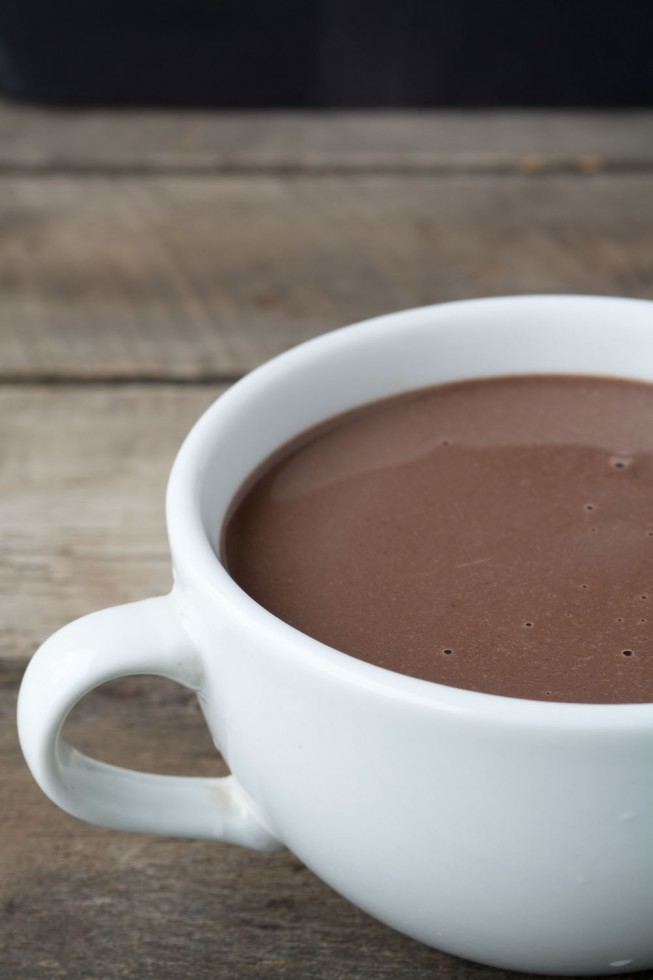 The thickest, richest, chocolate-iest drinking chocolate