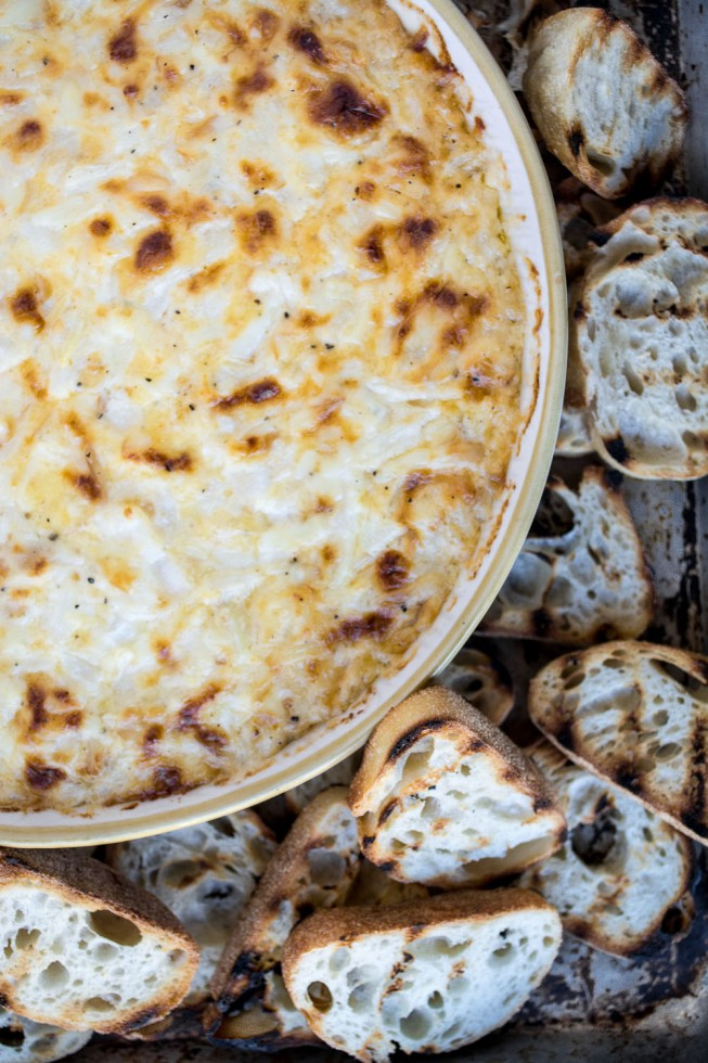 A versatile and easy Smoked Onion Dip