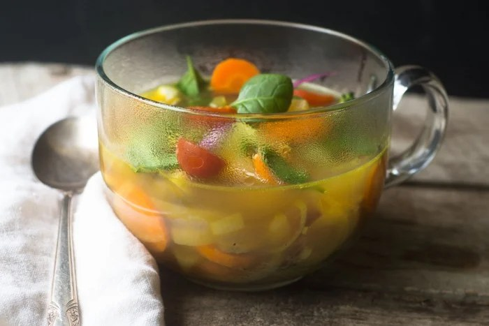 A simple, filliing, healthy soup to help you cleanse away the excesses of the holidays!