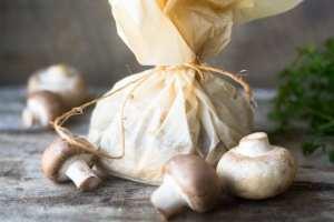 Wild Mushroom Polenta Packets recipe
