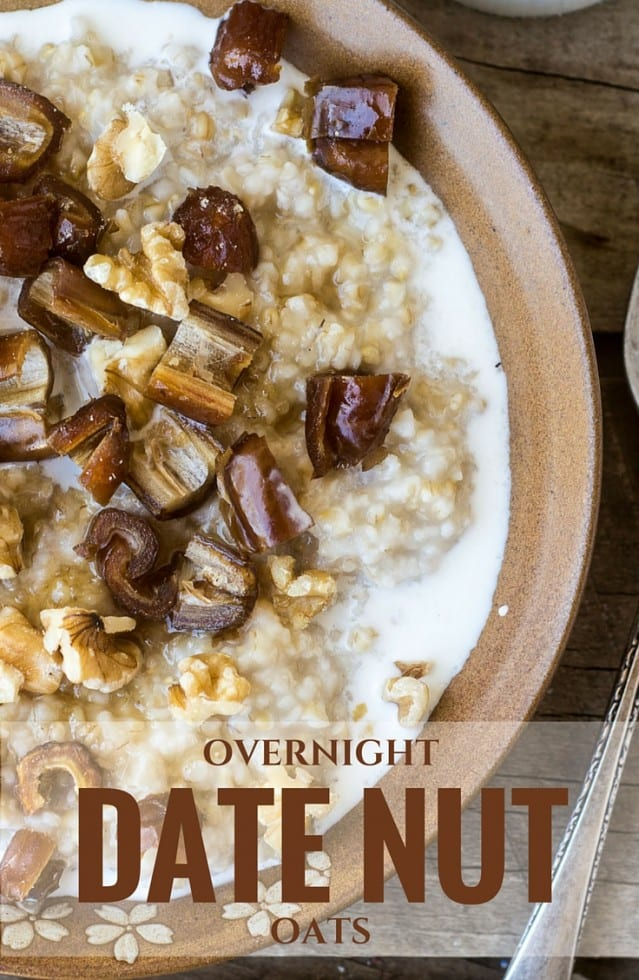 My favorite overnight method for making healthy steel cut oats --- all the work is done while you sleep!