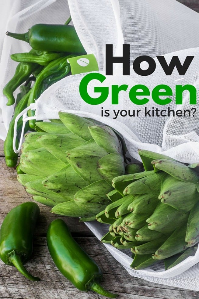 Simple but meaningful changes you can make in your kitchen to go greener and healtheir for you, your family, and the planet.