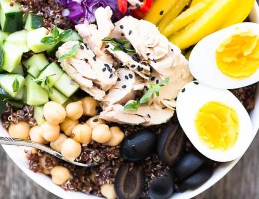 Albacore Buddha Bowl Recipe ~ theviewfromgreatisland.com