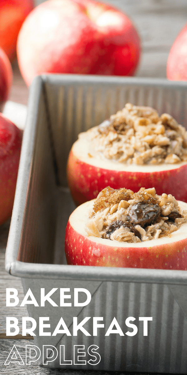 Baked Breakfast Apples