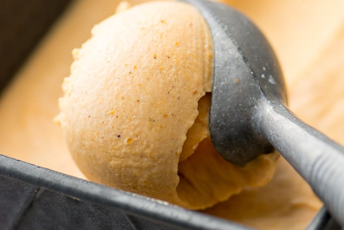 No Churn Pumpkin Spice Ice Cream