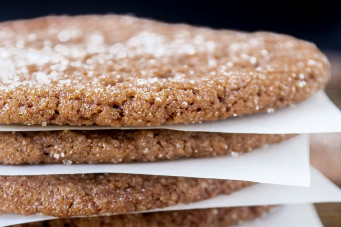 chewy ginger cookies
