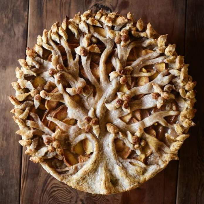 peach tree pie from Christine McConnell