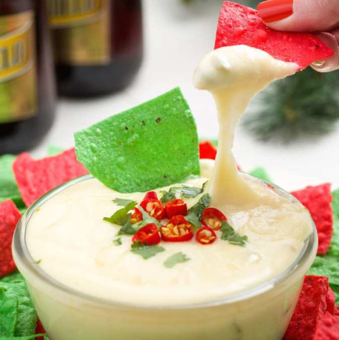 Christmas Queso from Delish