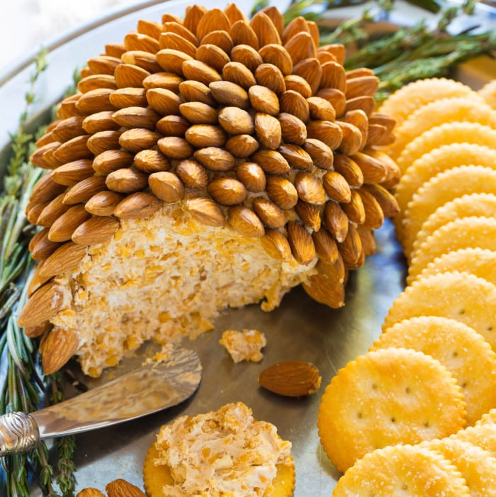 Pinecone Cheese Ball from The Pioneer Woman