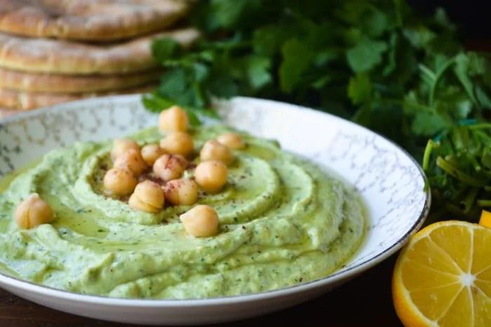 Herbed Hummus ~ theviewfromgreatisland.com