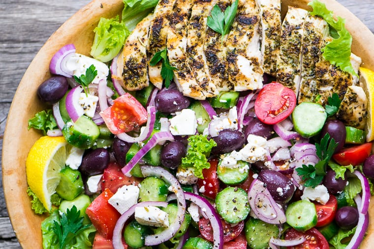 Grilled Chicken Greek Salad The View From Great Island