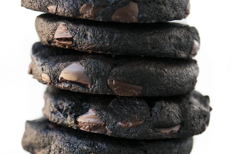 Double Dark Chocolate Shortbread Cookies