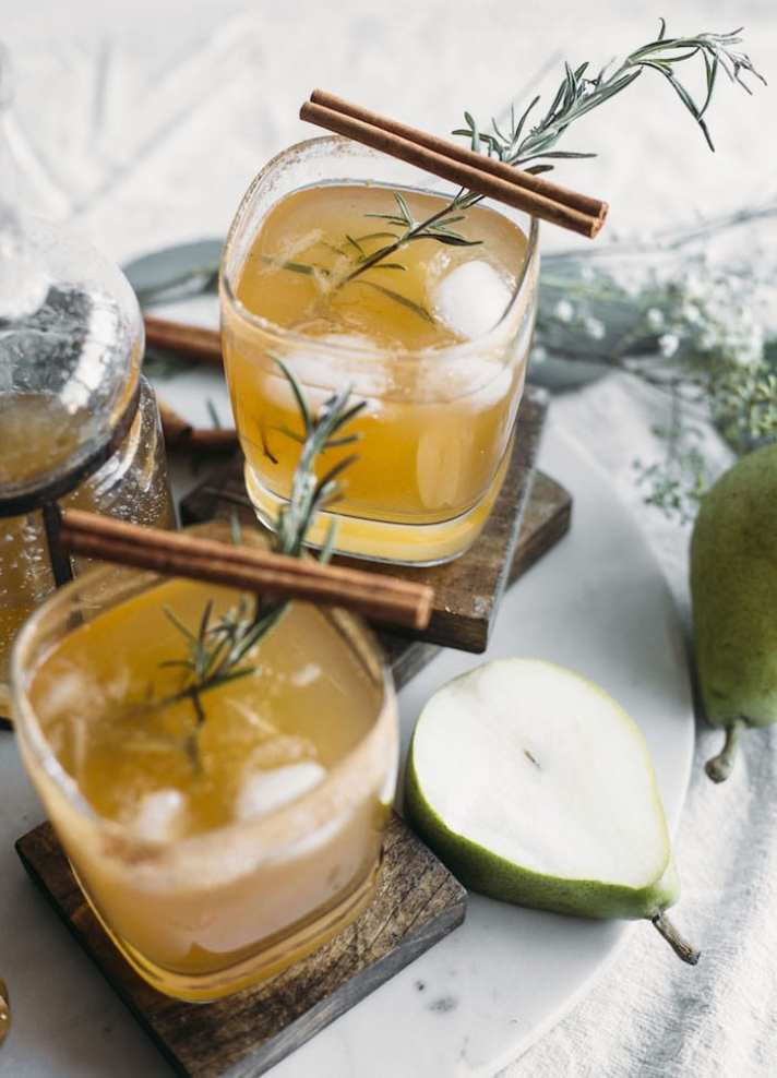 What to Drink Now ~ Fall cocktails are the BEST...think cranberry, maple, apple, pear, fig, pumpkin, woodsy herbs and smokey spices ~ check out this gorgeous Autumn inspired cocktail collection and get ready to discover your new favorite cozy sip...The Almond Eater