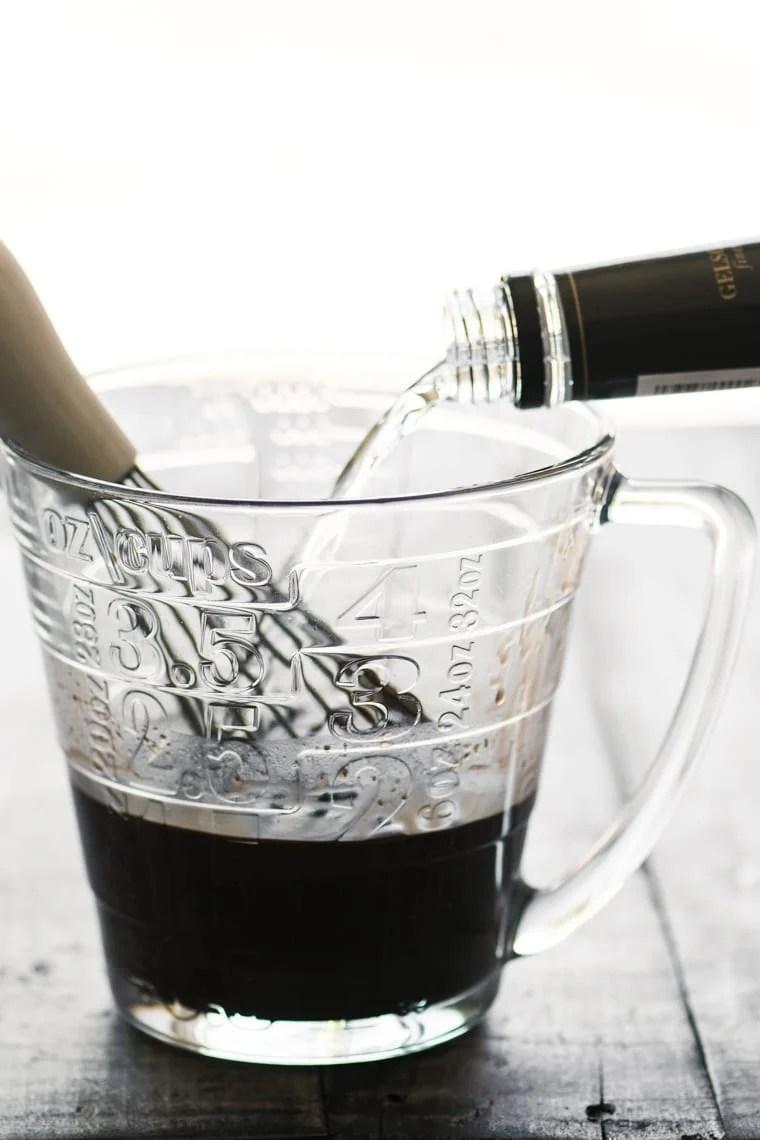 Adding Vodka to a homemade Nutella Liqueur