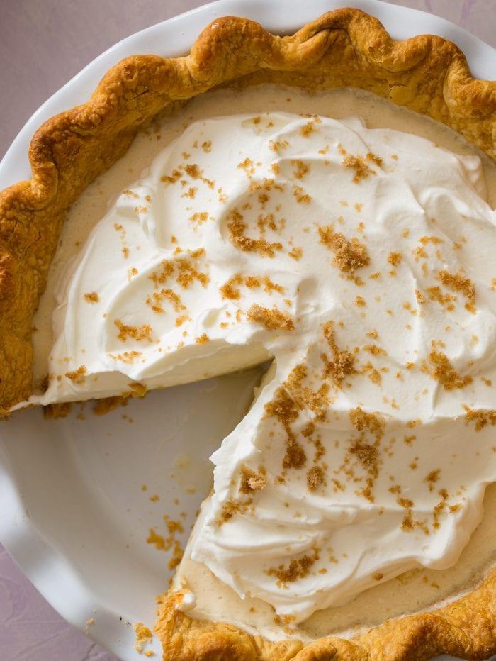 Maple Chiffon Pie