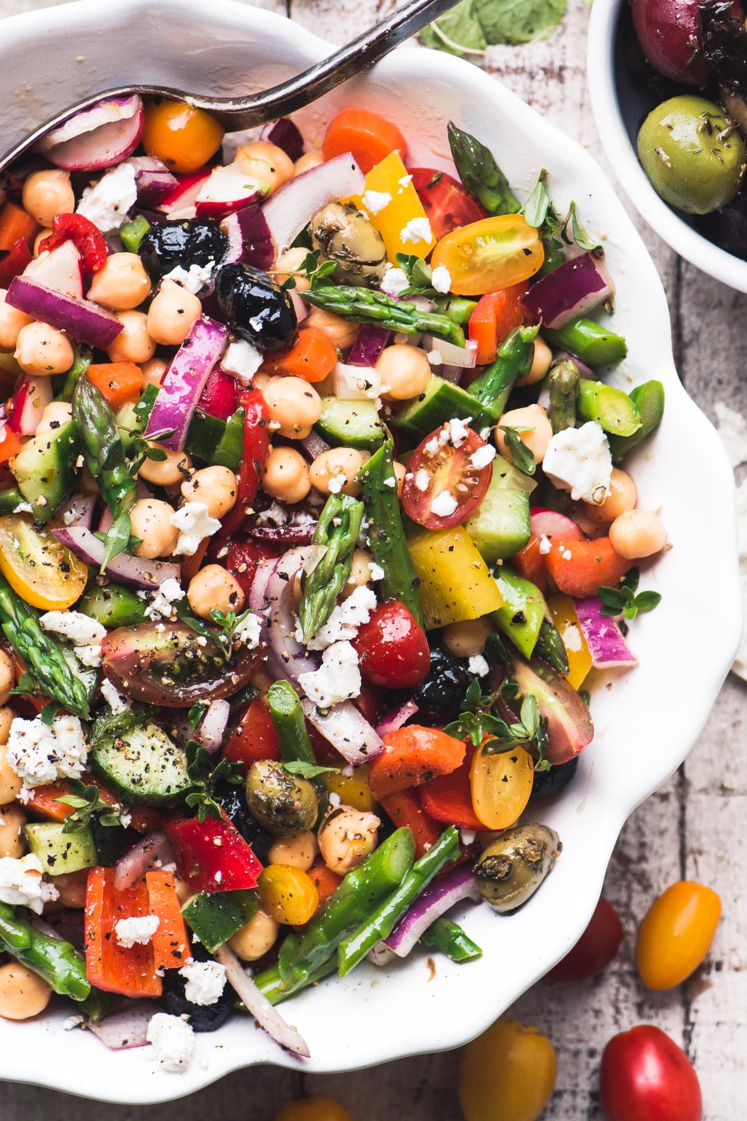Chopped Asparagus Salad