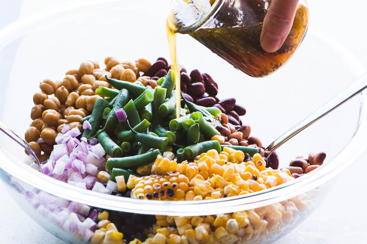 Charred Corn and Bean Salad