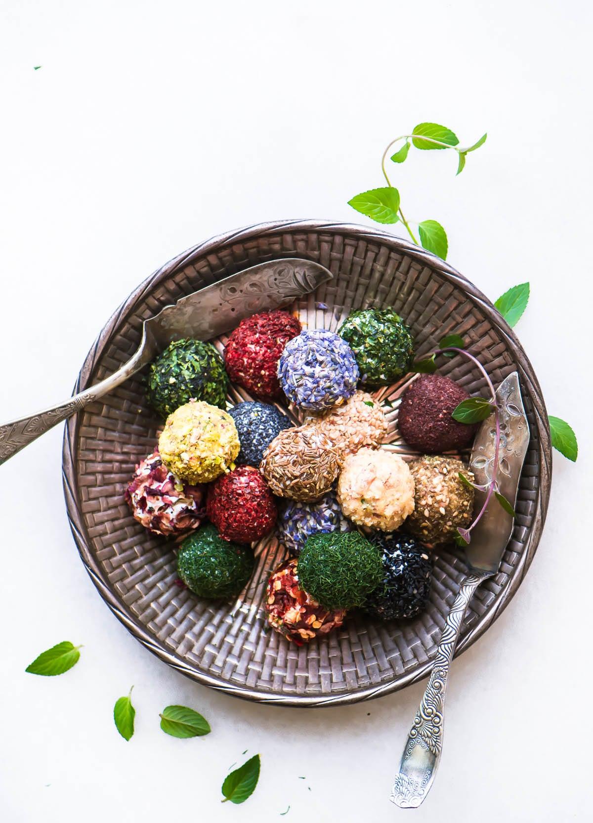 Jewel Box Labneh Balls