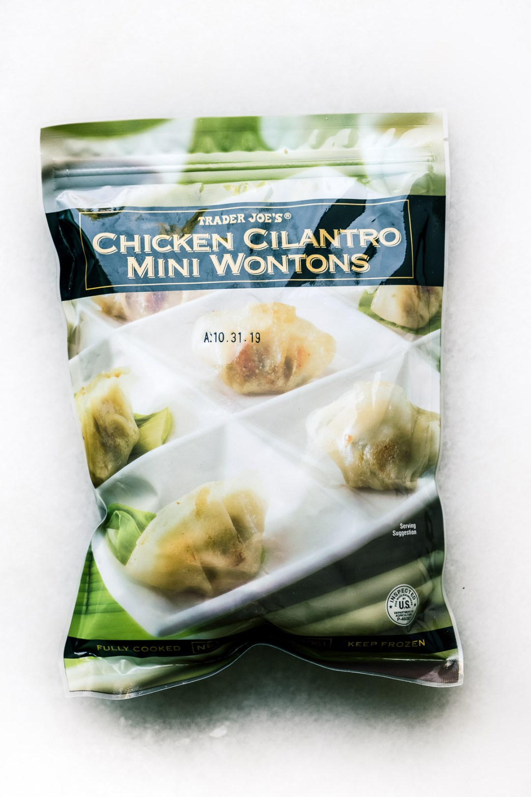 Trader Joe's Chicken Cilantro Wontons