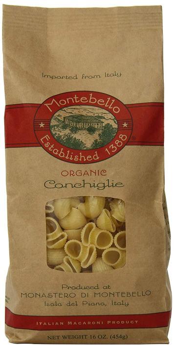 Montebello Conchiglie Pasta