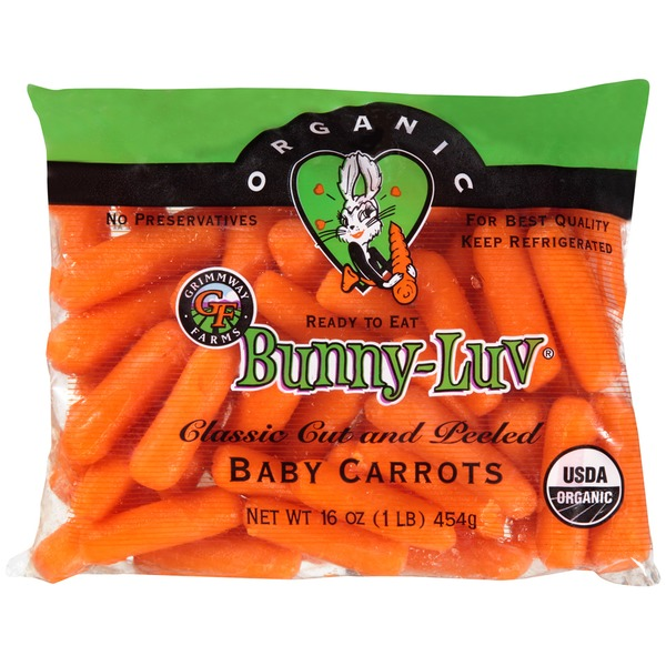 bagged baby carrots