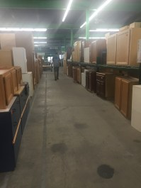 Habitat for Humanity's ReStore with aisles and aisles of goodies
