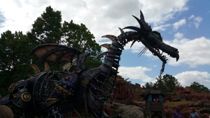 Dragon from Sleeping Beauty