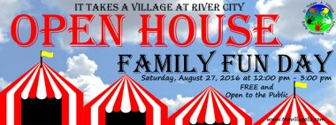 Family Fun Day Banner