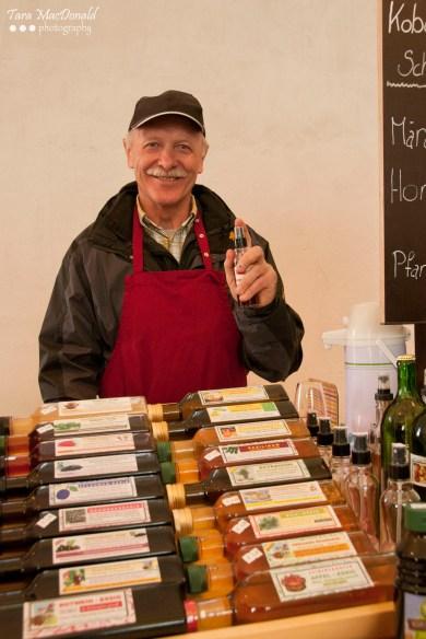 Essig Pepi at the Markthalle Kulinarium Burgenland