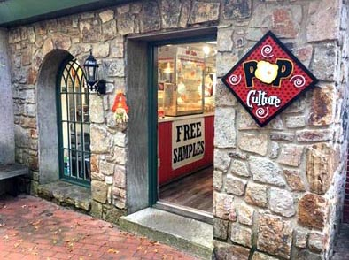 Pop Culture Flavored Gourmet Popcorn Shop in The Village Gatlinburg