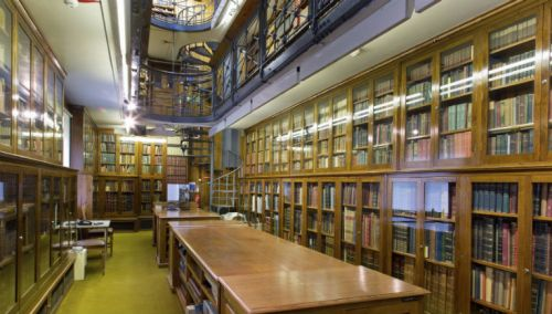 Tring Museum Rothschild Library