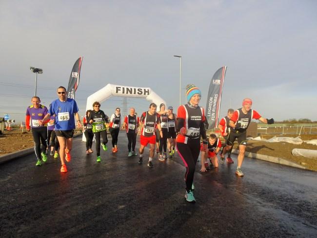 Local Runners Take Part In Woodside Link 5K Fun Run
