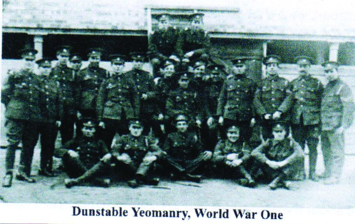 Dunstable And World War One. Dunstable Yeomanry