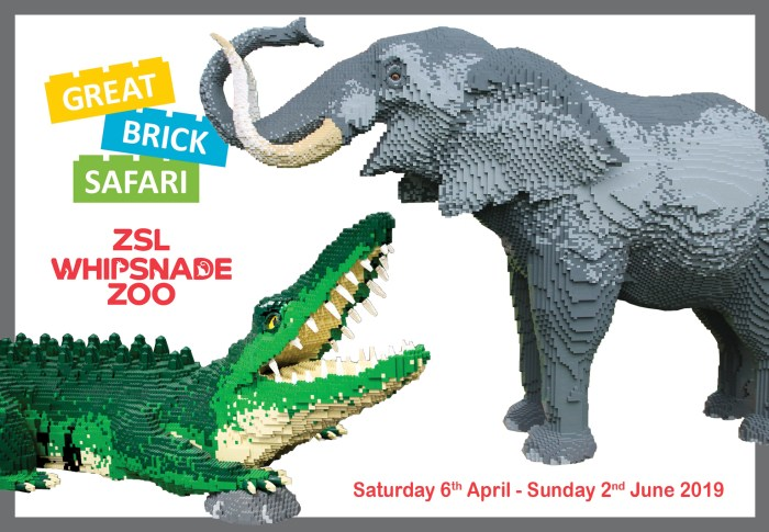 LEGO Safari At Whipsnade Zoo This Easter