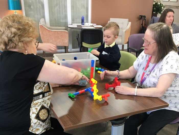 Dunstable School Re-creates Old People's Home For 4 Year Olds