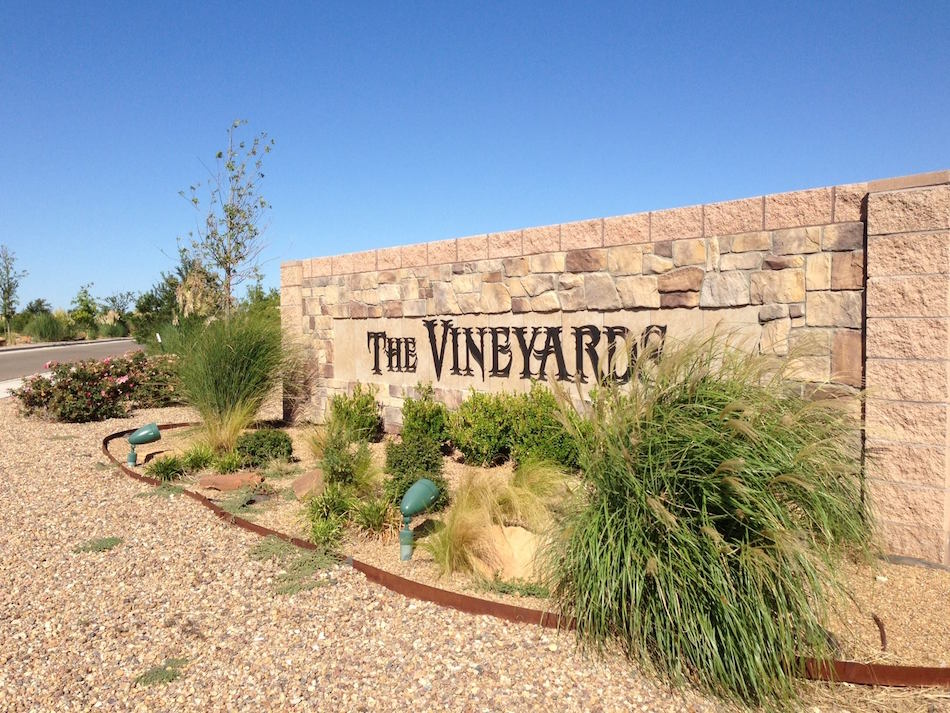 Front Entrance of The Vineyards Amarillo