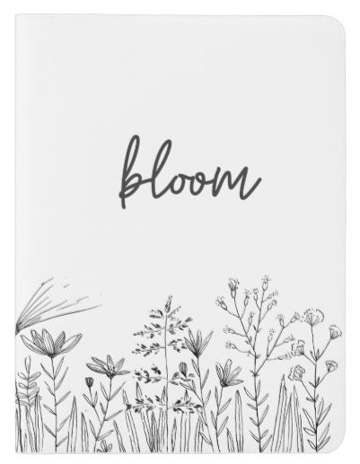 Bloom Notebook Cover