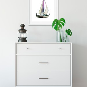 Sail Away with Me Painting