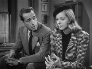 Bogie and Bacall in THE BIG SLEEP
