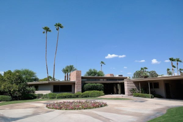 Sinatra's Twin Palms Estate in Palm Springs