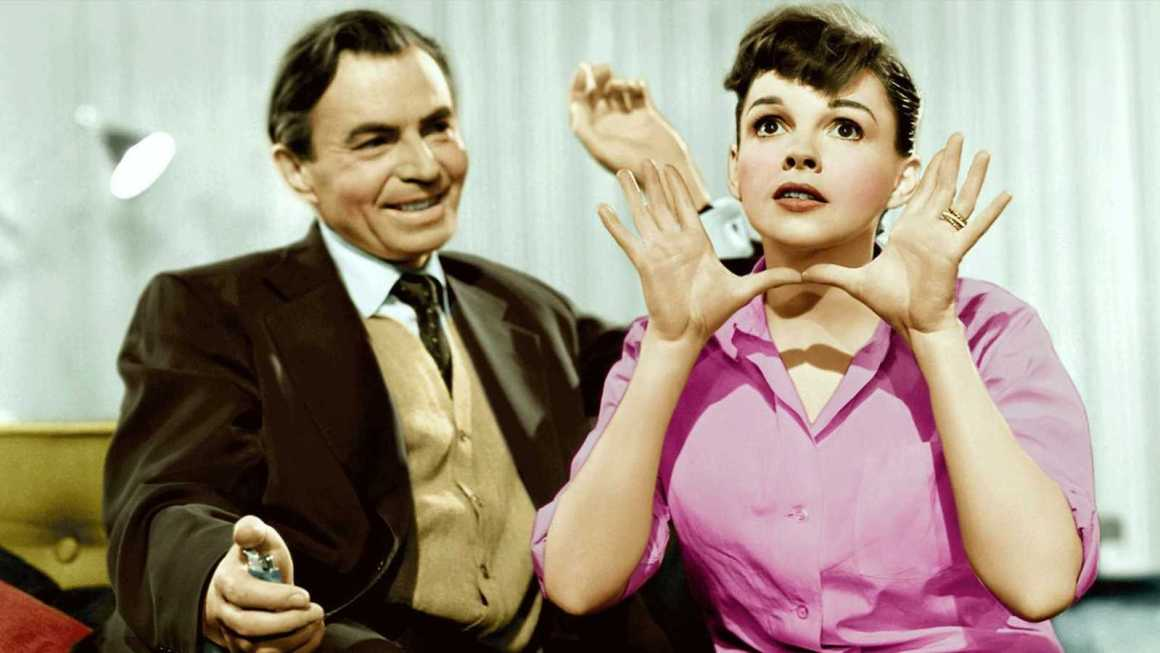 James Mason and Judy Garland in A Star is Born