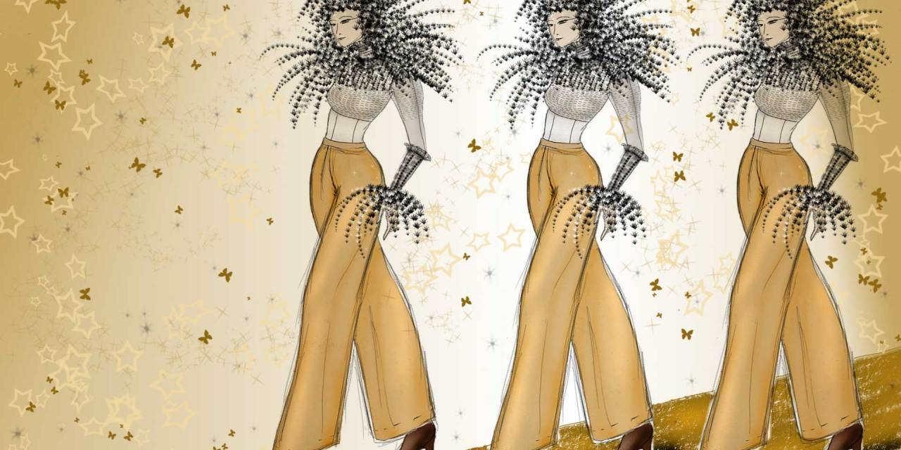 Fashion Illustrations by The Vintage Couturiere